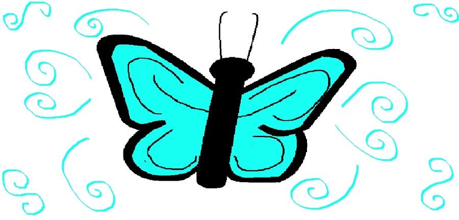 DÚ - motýl
