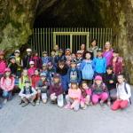 Po prohlídce Kateřinské jeskyně s paní průvodkyní