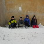 křižáci za hradbami