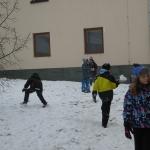 sněhová bitva