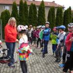 ..každý získal průkaz cyklisty.