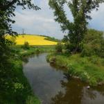 Krásné prostředí kolem řeky Oslavy.