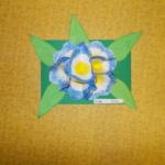 Plastické květy 001