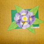 Plastické květy 003