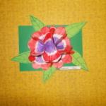 Plastické květy 004
