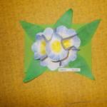 Plastické květy 005