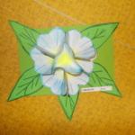 Plastické květy 007