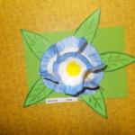 Plastické květy 009