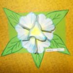 Plastické květy 010