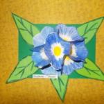 Plastické květy 011