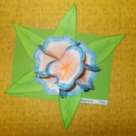 Plastické květy 012