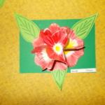 Plastické květy 013