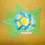 Plastické květy 014