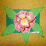 Plastické květy 015