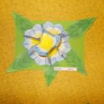 Plastické květy 017