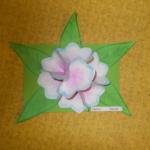 Plastické květy 018