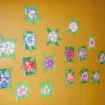 Plastické květy 019