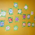 Plastické květy 020