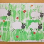 Ovce na louce 001
