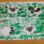 Ovce na louce 012