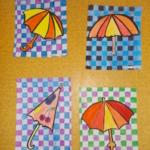 deštníky 047