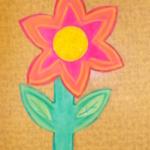 plastický květ 024