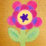 plastický květ 029