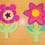 plastický květ 031
