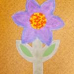 plastický květ 033