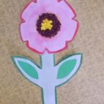 plastický květ 035