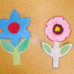 plastický květ 036
