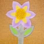 plastický květ 039