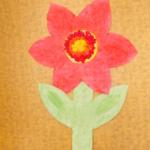 plastický květ 040