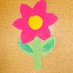 plastický květ 041