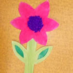 plastický květ 042
