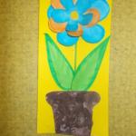 plastický květ 001