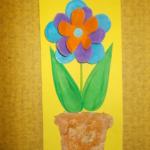 plastický květ 002