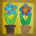 plastický květ 003