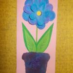 plastický květ 004
