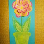 plastický květ 006