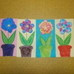 plastický květ 008