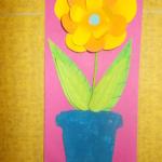 plastický květ 009