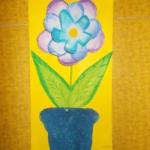 plastický květ 010