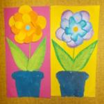 plastický květ 011