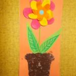 plastický květ 013