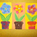 plastický květ 015