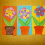plastický květ 019