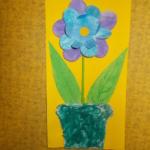 plastický květ 020