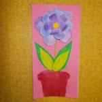 plastický květ 027