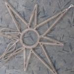 Vánoční hvězda ornament